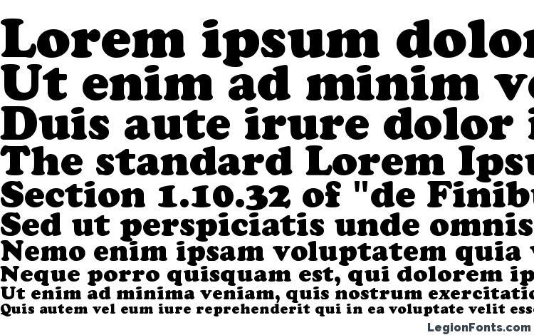 specimens Cooper Black font, sample Cooper Black font, an example of writing Cooper Black font, review Cooper Black font, preview Cooper Black font, Cooper Black font