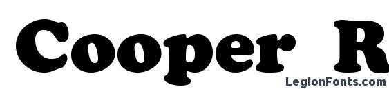 шрифт Cooper Roman Roman, бесплатный шрифт Cooper Roman Roman, предварительный просмотр шрифта Cooper Roman Roman