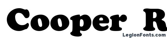 Cooper Roman Roman Font