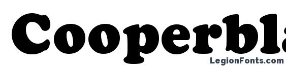 Cooperblackcbt Font