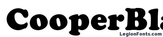 CooperBlackStd Font