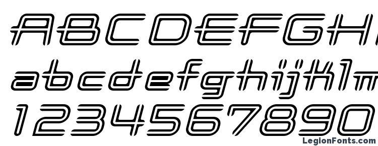 glyphs Coot stripe italic font, сharacters Coot stripe italic font, symbols Coot stripe italic font, character map Coot stripe italic font, preview Coot stripe italic font, abc Coot stripe italic font, Coot stripe italic font