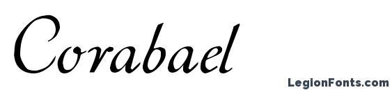 Шрифт Corabael