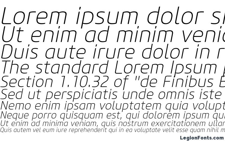 specimens Core Sans M 25 ExtraLight Italic font, sample Core Sans M 25 ExtraLight Italic font, an example of writing Core Sans M 25 ExtraLight Italic font, review Core Sans M 25 ExtraLight Italic font, preview Core Sans M 25 ExtraLight Italic font, Core Sans M 25 ExtraLight Italic font