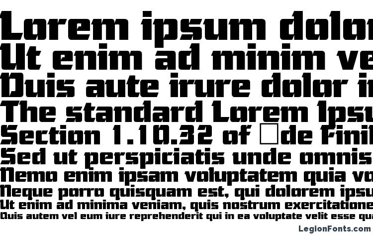 specimens Cornered Regular font, sample Cornered Regular font, an example of writing Cornered Regular font, review Cornered Regular font, preview Cornered Regular font, Cornered Regular font