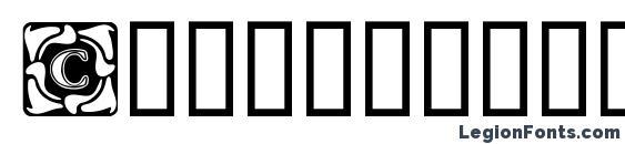 Шрифт Cornerflair