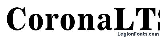 Шрифт CoronaLTStd BoldFaceNo2