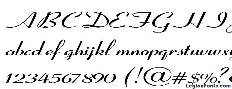 coronet italic font