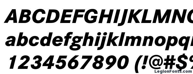 glyphs Corporate S W10 XBold Italic font, сharacters Corporate S W10 XBold Italic font, symbols Corporate S W10 XBold Italic font, character map Corporate S W10 XBold Italic font, preview Corporate S W10 XBold Italic font, abc Corporate S W10 XBold Italic font, Corporate S W10 XBold Italic font