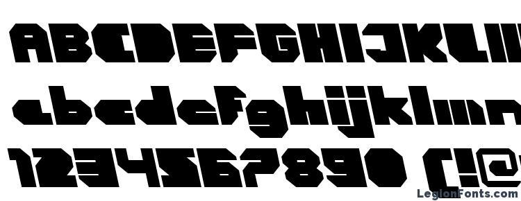 глифы шрифта CorTen ClosedFatItalicAlt, символы шрифта CorTen ClosedFatItalicAlt, символьная карта шрифта CorTen ClosedFatItalicAlt, предварительный просмотр шрифта CorTen ClosedFatItalicAlt, алфавит шрифта CorTen ClosedFatItalicAlt, шрифт CorTen ClosedFatItalicAlt