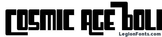 Шрифт Cosmic Age Bold