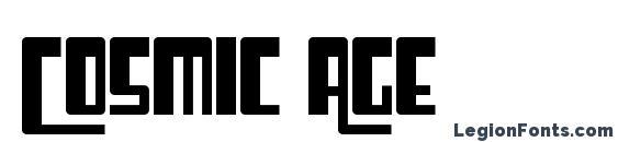 Шрифт Cosmic Age