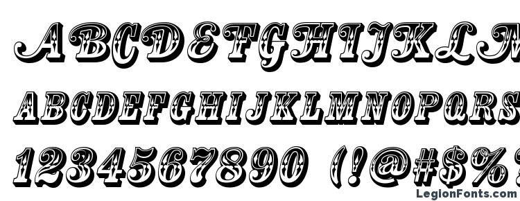 glyphs Country Western Swing Title font, сharacters Country Western Swing Title font, symbols Country Western Swing Title font, character map Country Western Swing Title font, preview Country Western Swing Title font, abc Country Western Swing Title font, Country Western Swing Title font