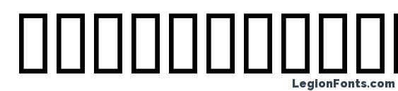 CountryBlueprint Font