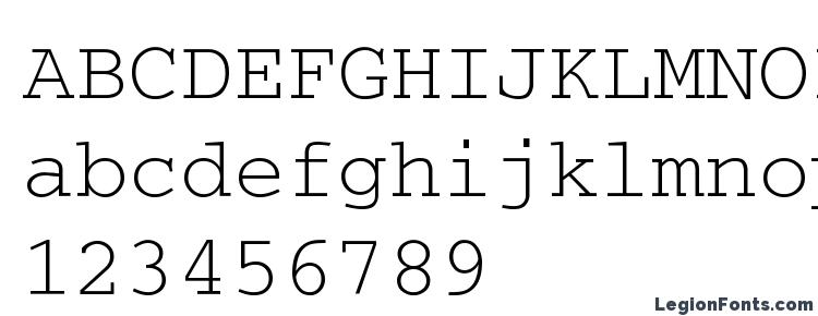glyphs Courier a font, сharacters Courier a font, symbols Courier a font, character map Courier a font, preview Courier a font, abc Courier a font, Courier a font