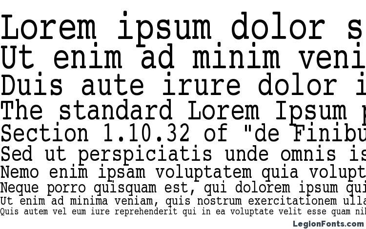 specimens Courier Condensed font, sample Courier Condensed font, an example of writing Courier Condensed font, review Courier Condensed font, preview Courier Condensed font, Courier Condensed font
