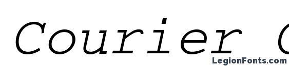 Courier Oblique Font