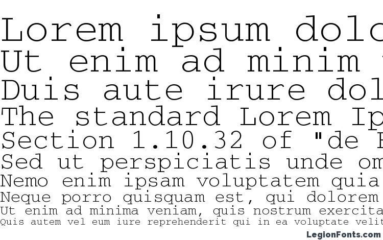 specimens Courierctt regular font, sample Courierctt regular font, an example of writing Courierctt regular font, review Courierctt regular font, preview Courierctt regular font, Courierctt regular font