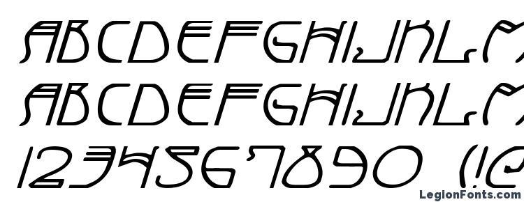 glyphs Coyote Deco ExpItal font, сharacters Coyote Deco ExpItal font, symbols Coyote Deco ExpItal font, character map Coyote Deco ExpItal font, preview Coyote Deco ExpItal font, abc Coyote Deco ExpItal font, Coyote Deco ExpItal font