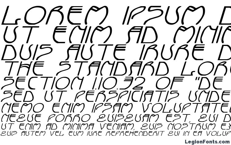specimens Coyote Deco ExpItal font, sample Coyote Deco ExpItal font, an example of writing Coyote Deco ExpItal font, review Coyote Deco ExpItal font, preview Coyote Deco ExpItal font, Coyote Deco ExpItal font