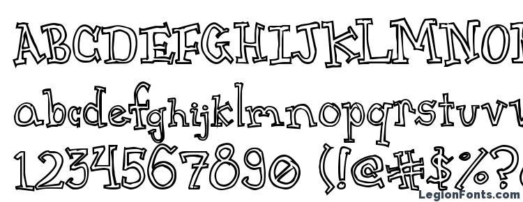 glyphs CrapSerif font, сharacters CrapSerif font, symbols CrapSerif font, character map CrapSerif font, preview CrapSerif font, abc CrapSerif font, CrapSerif font