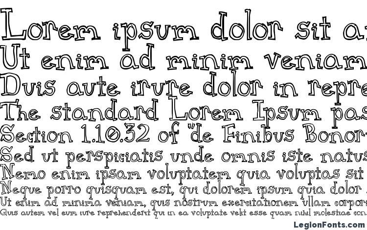 specimens CrapSerif font, sample CrapSerif font, an example of writing CrapSerif font, review CrapSerif font, preview CrapSerif font, CrapSerif font