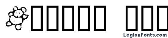 Crayon kids 1 Font, Icons Fonts