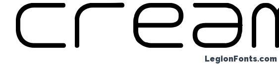 Creaminal Font