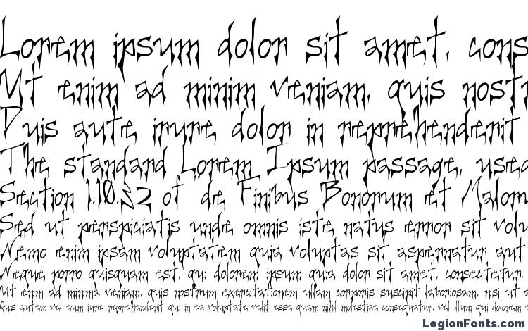 specimens Creerg font, sample Creerg font, an example of writing Creerg font, review Creerg font, preview Creerg font, Creerg font