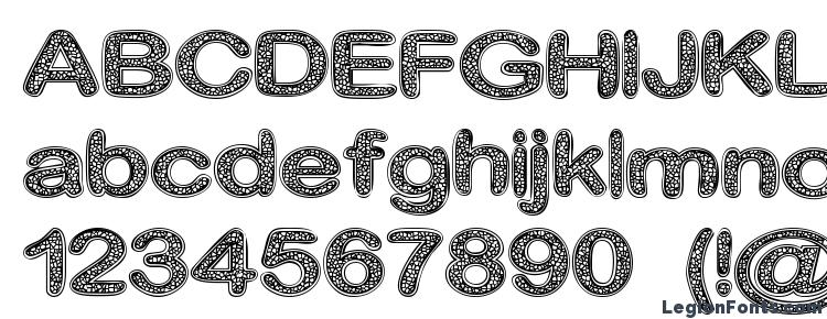 глифы шрифта Crinkle Cut Glass, символы шрифта Crinkle Cut Glass, символьная карта шрифта Crinkle Cut Glass, предварительный просмотр шрифта Crinkle Cut Glass, алфавит шрифта Crinkle Cut Glass, шрифт Crinkle Cut Glass