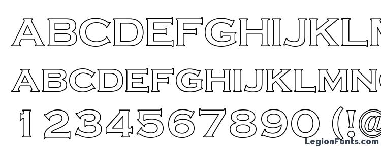 Cripse Hollow Font Download Free / LegionFonts