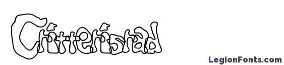 Critterisrad Font