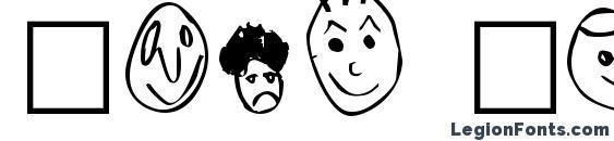 Шрифт Crud Heads