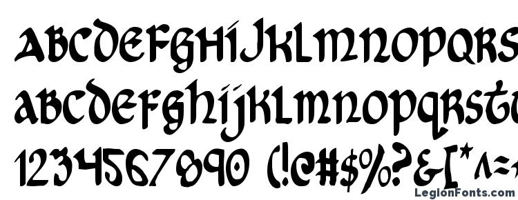 glyphs Cry Uncial Condensed font, сharacters Cry Uncial Condensed font, symbols Cry Uncial Condensed font, character map Cry Uncial Condensed font, preview Cry Uncial Condensed font, abc Cry Uncial Condensed font, Cry Uncial Condensed font