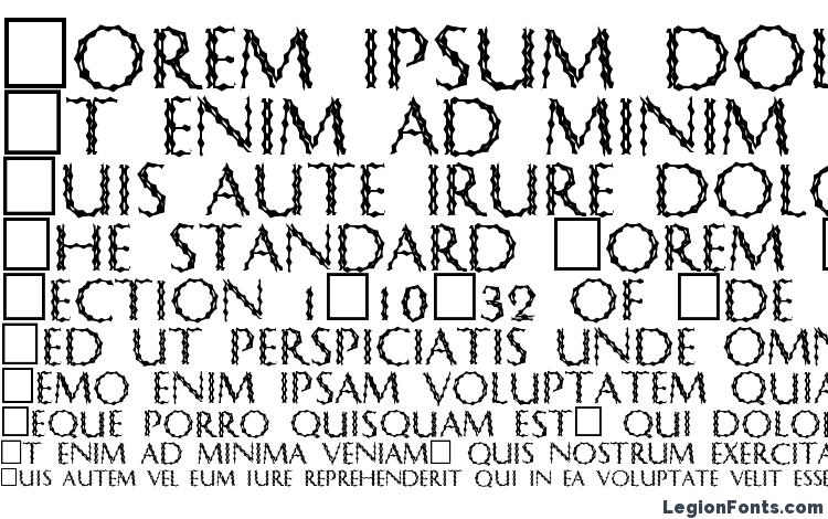 specimens CrypTiX font, sample CrypTiX font, an example of writing CrypTiX font, review CrypTiX font, preview CrypTiX font, CrypTiX font