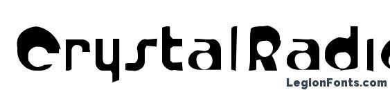 CrystalRadioKitGaunt Font, Lettering Fonts