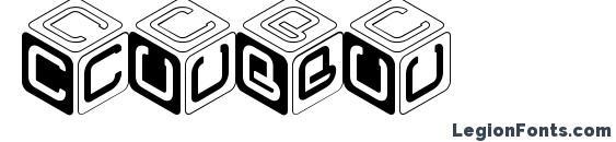 CUBU Font, Icons Fonts