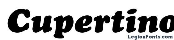 Шрифт Cupertino Italic