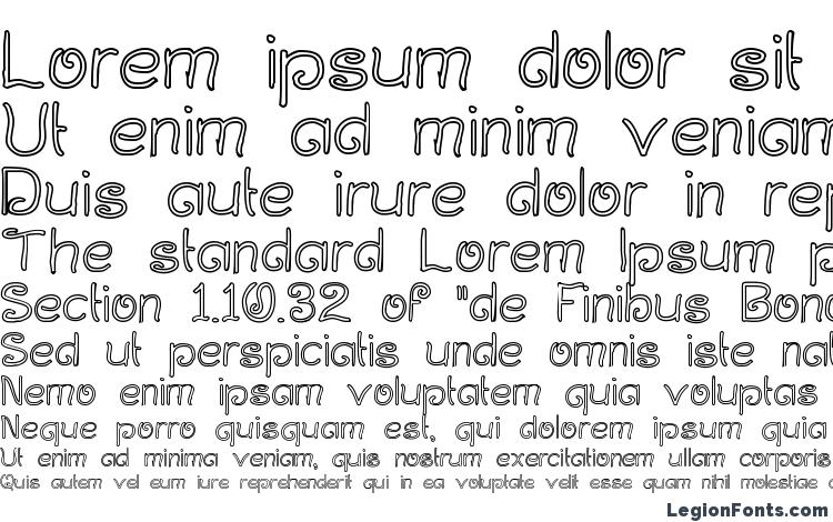 specimens Curlmudgeon Hollow font, sample Curlmudgeon Hollow font, an example of writing Curlmudgeon Hollow font, review Curlmudgeon Hollow font, preview Curlmudgeon Hollow font, Curlmudgeon Hollow font