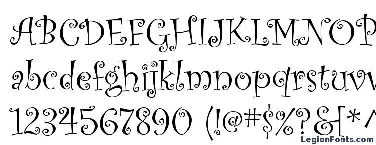 glyphs Curlz MT font, сharacters Curlz MT font, symbols Curlz MT font, character map Curlz MT font, preview Curlz MT font, abc Curlz MT font, Curlz MT font