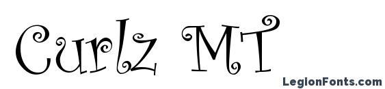 Шрифт Curlz MT