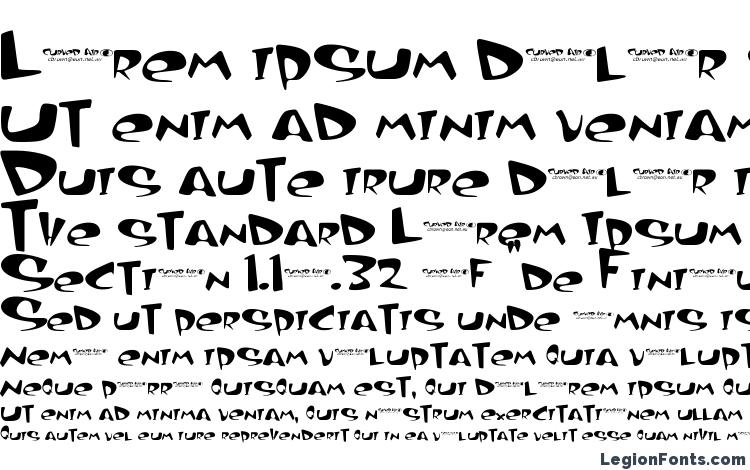 specimens Curved air font, sample Curved air font, an example of writing Curved air font, review Curved air font, preview Curved air font, Curved air font