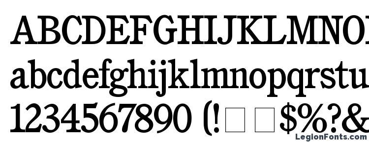 glyphs Cushing Medium font, сharacters Cushing Medium font, symbols Cushing Medium font, character map Cushing Medium font, preview Cushing Medium font, abc Cushing Medium font, Cushing Medium font