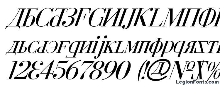 глифы шрифта Cyberia Italic, символы шрифта Cyberia Italic, символьная карта шрифта Cyberia Italic, предварительный просмотр шрифта Cyberia Italic, алфавит шрифта Cyberia Italic, шрифт Cyberia Italic