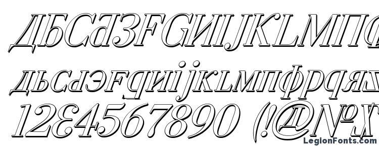 glyphs Cyberia Shadow Italic font, сharacters Cyberia Shadow Italic font, symbols Cyberia Shadow Italic font, character map Cyberia Shadow Italic font, preview Cyberia Shadow Italic font, abc Cyberia Shadow Italic font, Cyberia Shadow Italic font