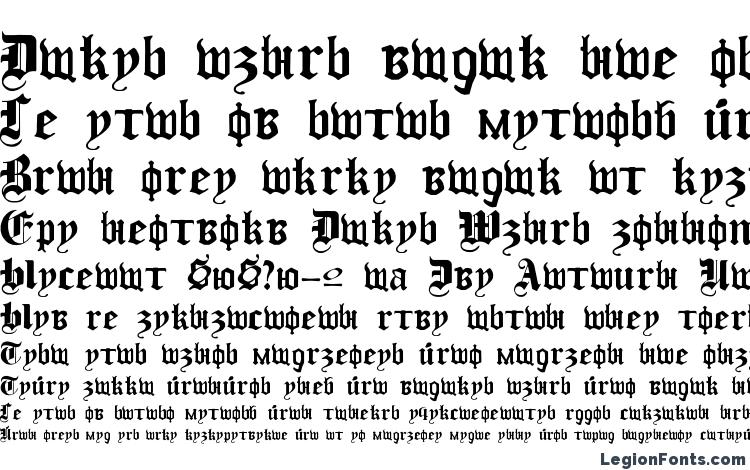 specimens Cyril Gothic Normal font, sample Cyril Gothic Normal font, an example of writing Cyril Gothic Normal font, review Cyril Gothic Normal font, preview Cyril Gothic Normal font, Cyril Gothic Normal font