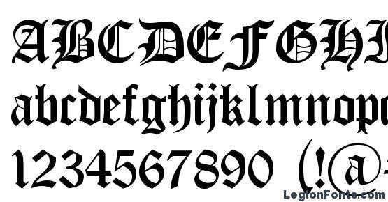 Cyrillic Goth Font Download Free / LegionFonts