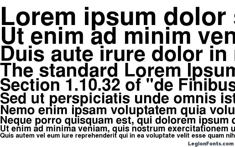 specimens CyrillicHelvet Bold font, sample CyrillicHelvet Bold font, an example of writing CyrillicHelvet Bold font, review CyrillicHelvet Bold font, preview CyrillicHelvet Bold font, CyrillicHelvet Bold font