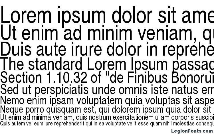 specimens Cyrvetica Narrow font, sample Cyrvetica Narrow font, an example of writing Cyrvetica Narrow font, review Cyrvetica Narrow font, preview Cyrvetica Narrow font, Cyrvetica Narrow font