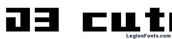 шрифт D3 cutebitmapism typea, бесплатный шрифт D3 cutebitmapism typea, предварительный просмотр шрифта D3 cutebitmapism typea